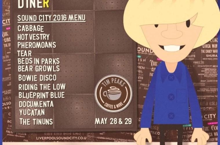 Sound City: Tim Peaks Diner / Tier 3 Tickets Running Low