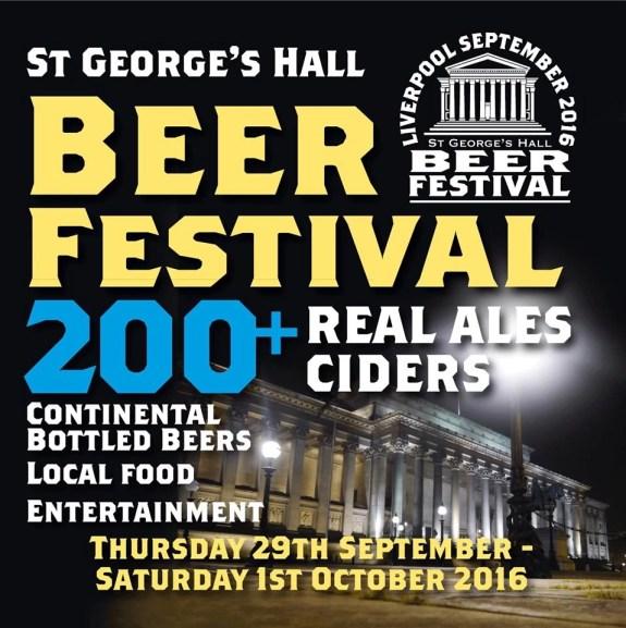 St George's Hall Beer Festival