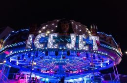The UK's Only Ice Jet Returns to Liverpool Ice Festival