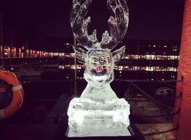 Royal Albert Dock Christmas Extravaganza 1