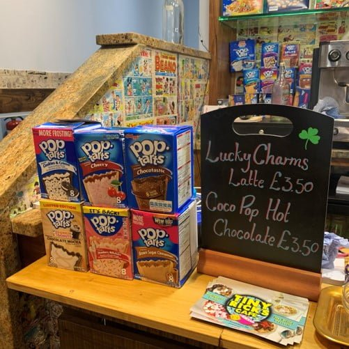 Tiny Rick's Cereal cafe smithdown road liverpool