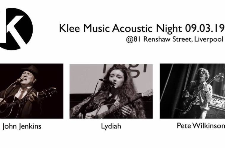 Klee Music Acoustic Night 2019 Programme