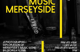 'MAKING MUSIC MERSEYSIDE' Gig Photography Exhibition Opens March 8th at Constellations 1