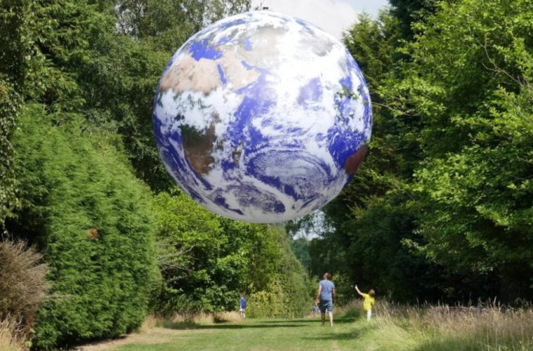 23ft Replica Earth Installation 'Gaia' Coming To Liverpool Cathedral