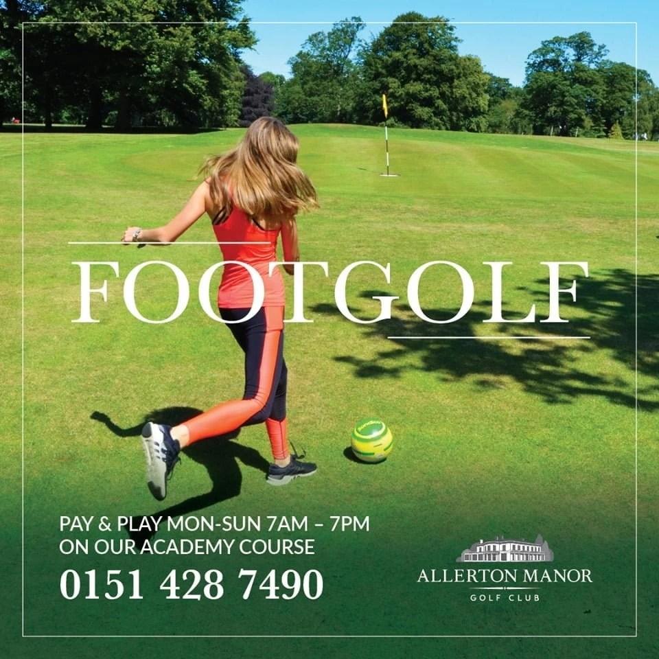FootGolf Allerton Manor Golf Club