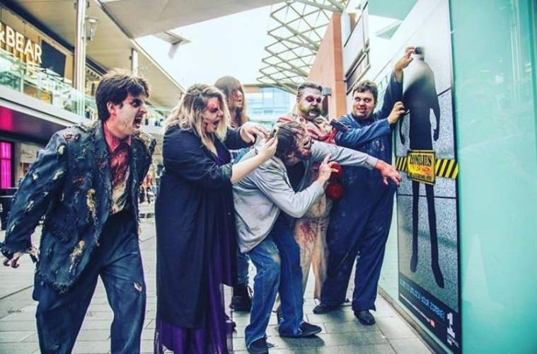 Join The Zombie Hunt At Liverpool ONE