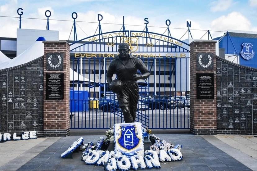 Everton Goodison Park Dixie Dean By GlamGigPics