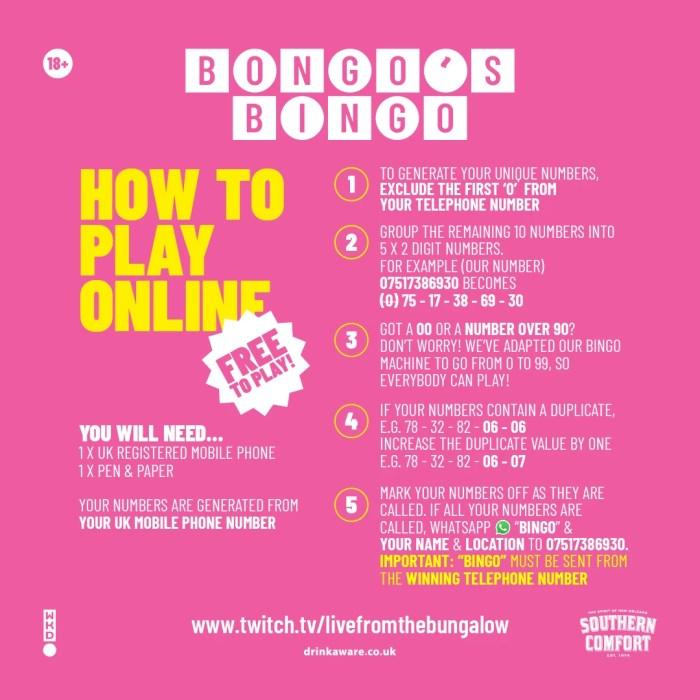 Bongo's Bingo Twitch