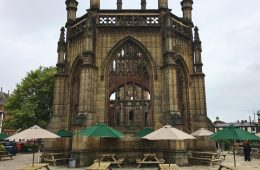 Bombed Out Church Garden Bar