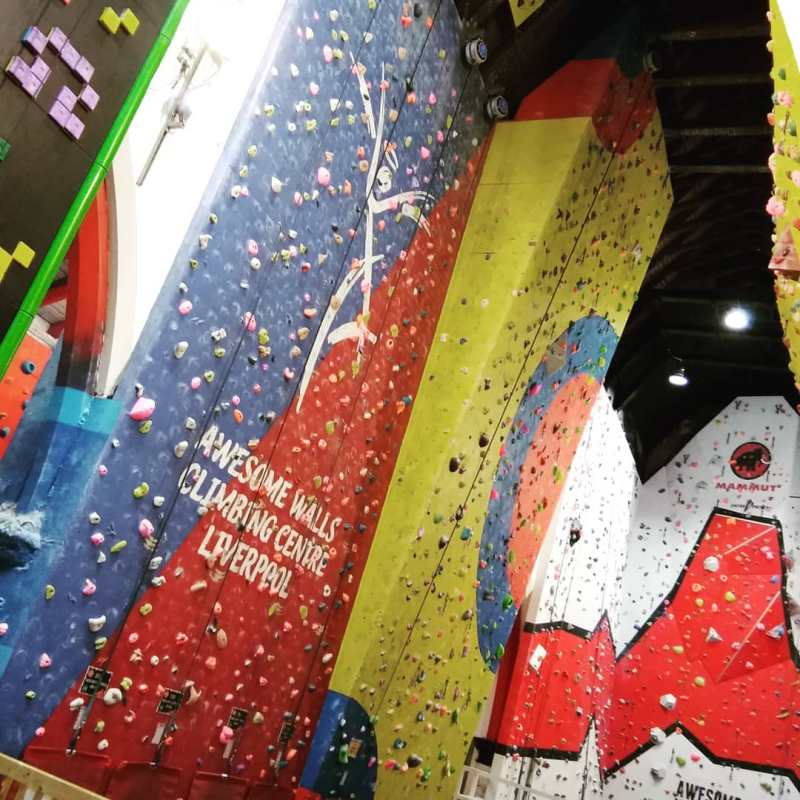 Fun Activities to do in Liverpool Awesome Walls