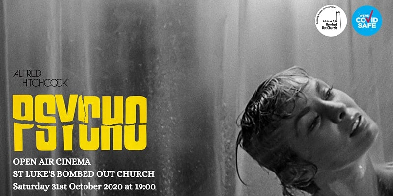 Bombed Out Church Halloween Cinema Psycho
