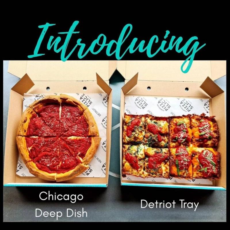 Chicago Deep Dish Pizza In Liverpool American Pizza Slice