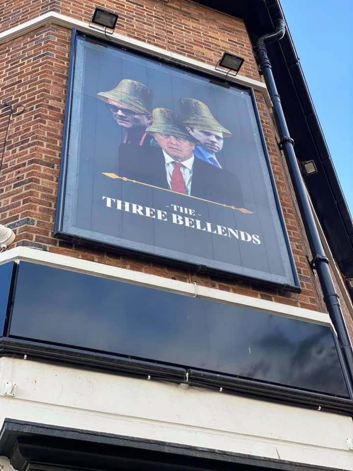 New Brighton Pub Renamed The Three Bellends