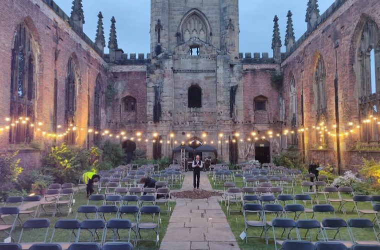 The Bombed Out Church Halloween Cinema