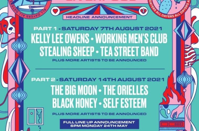 FestEvol 2021 All Dayer's Announced At Invisible Wind Factory This August 1