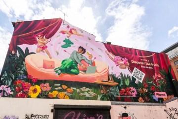 Klarna brightens up Liverpool with Ignasi Monreal mural 2