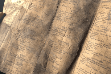 Menu from 1913 discovered in wall of Liverpool's LEAF Bold Street 1
