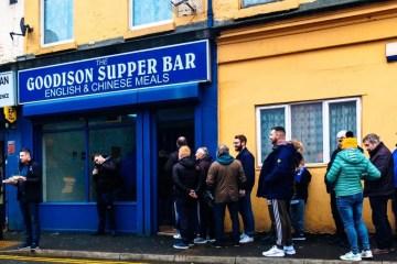 Football Everton FC Fans