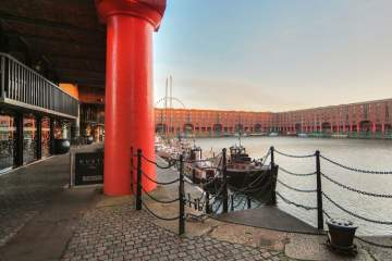 Feed Your mind Royal Albert Dock