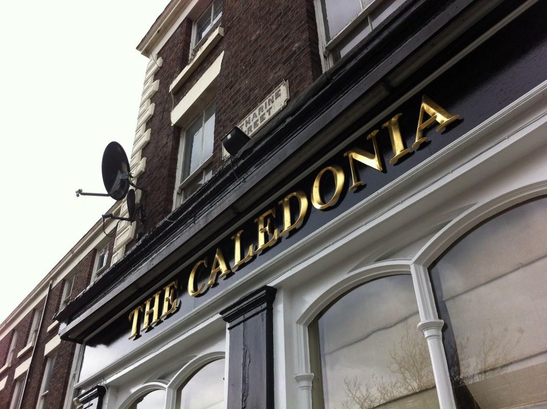 The Caledonia pub Liverpool