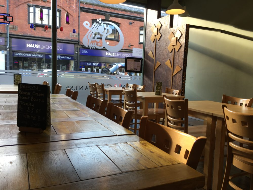 Damas restaurant Liverpool