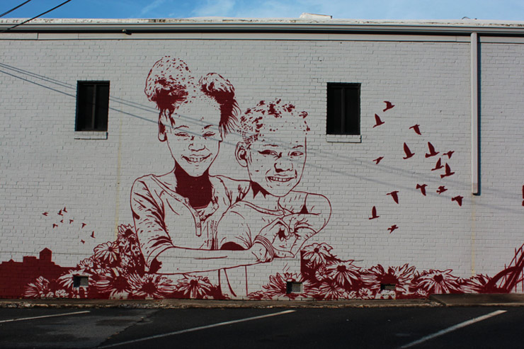 charlotte North Carolina street art