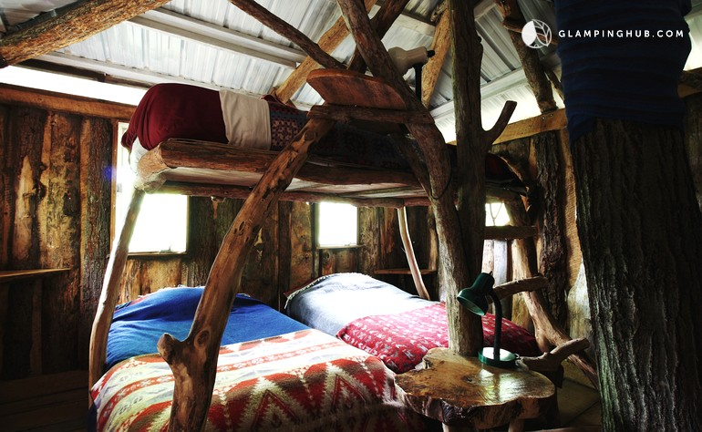 interesting glamping in vermont