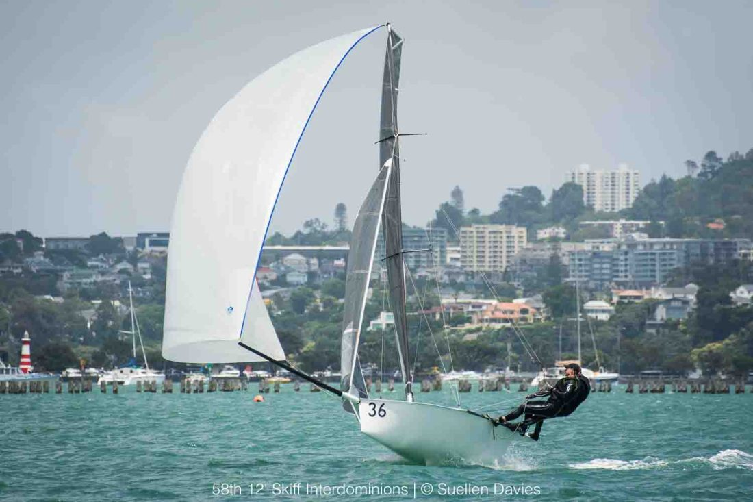 58th 12' Skiff Interdoms. Day 2. Photo: Suellen Davies