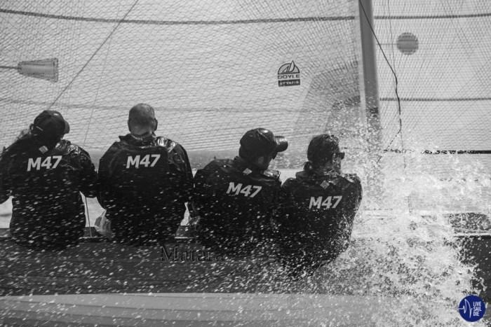 M-Class Racing - Saturday 27th October 2018. Photo: Rachel von Zalinski / Live Sail Die