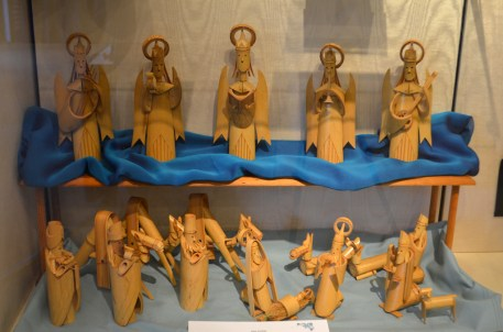 """Bamboo Nativity"" from Taiwan - Anna Jennings"