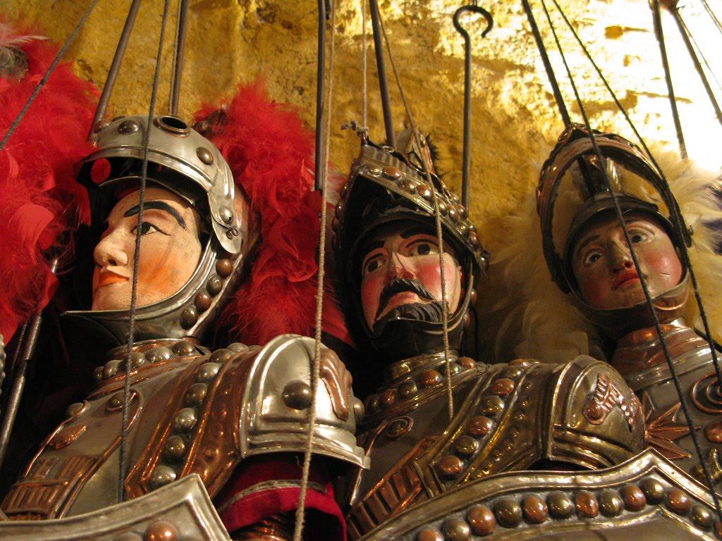A Catania di scena marionette e pupi  Live Sicilia