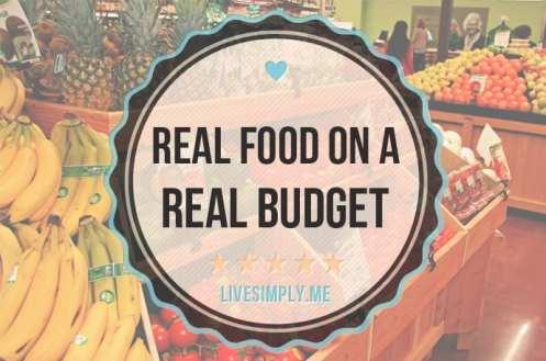 food on budget