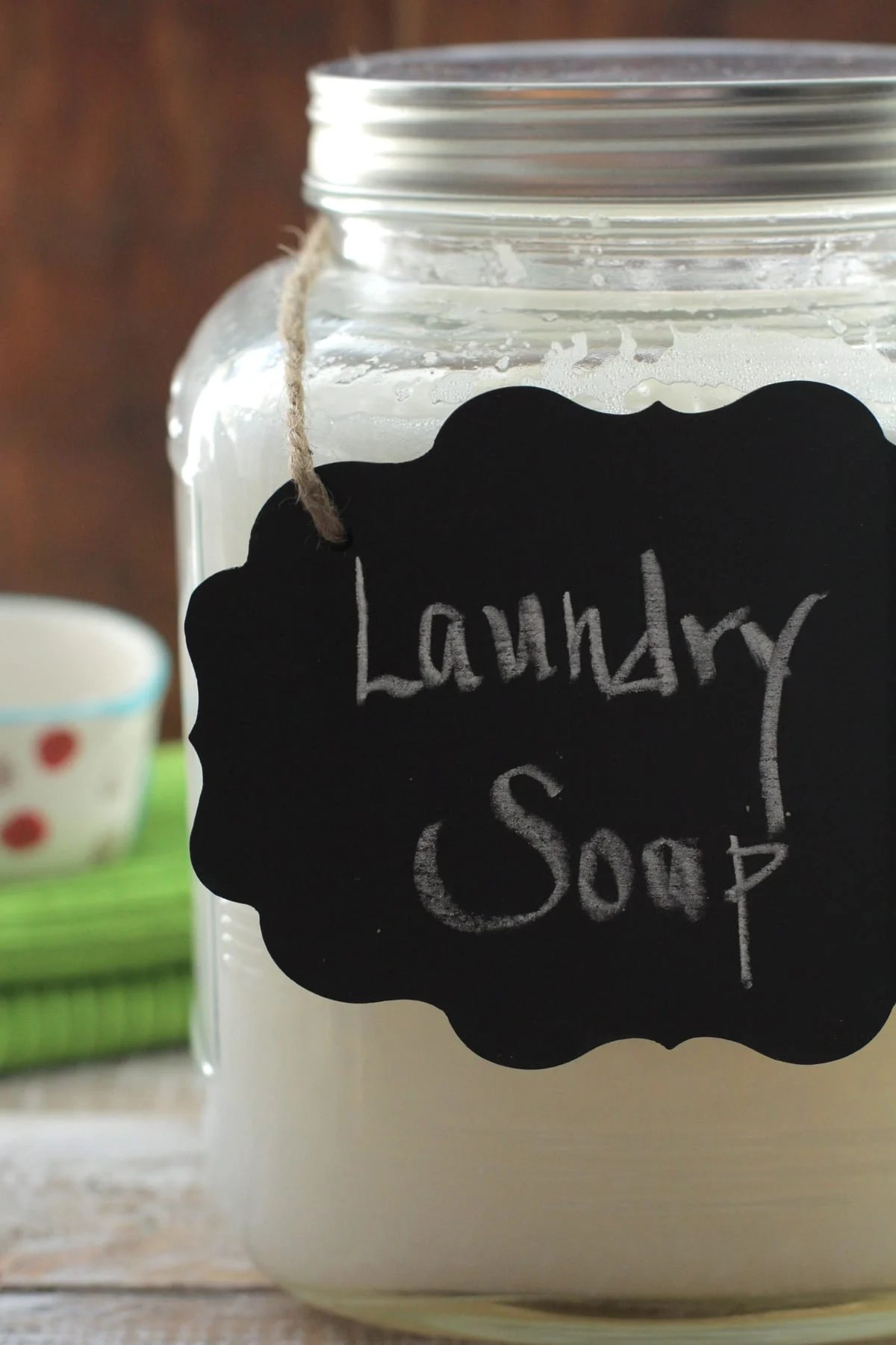 Homemade Liquid Laundry Soap Live Simply