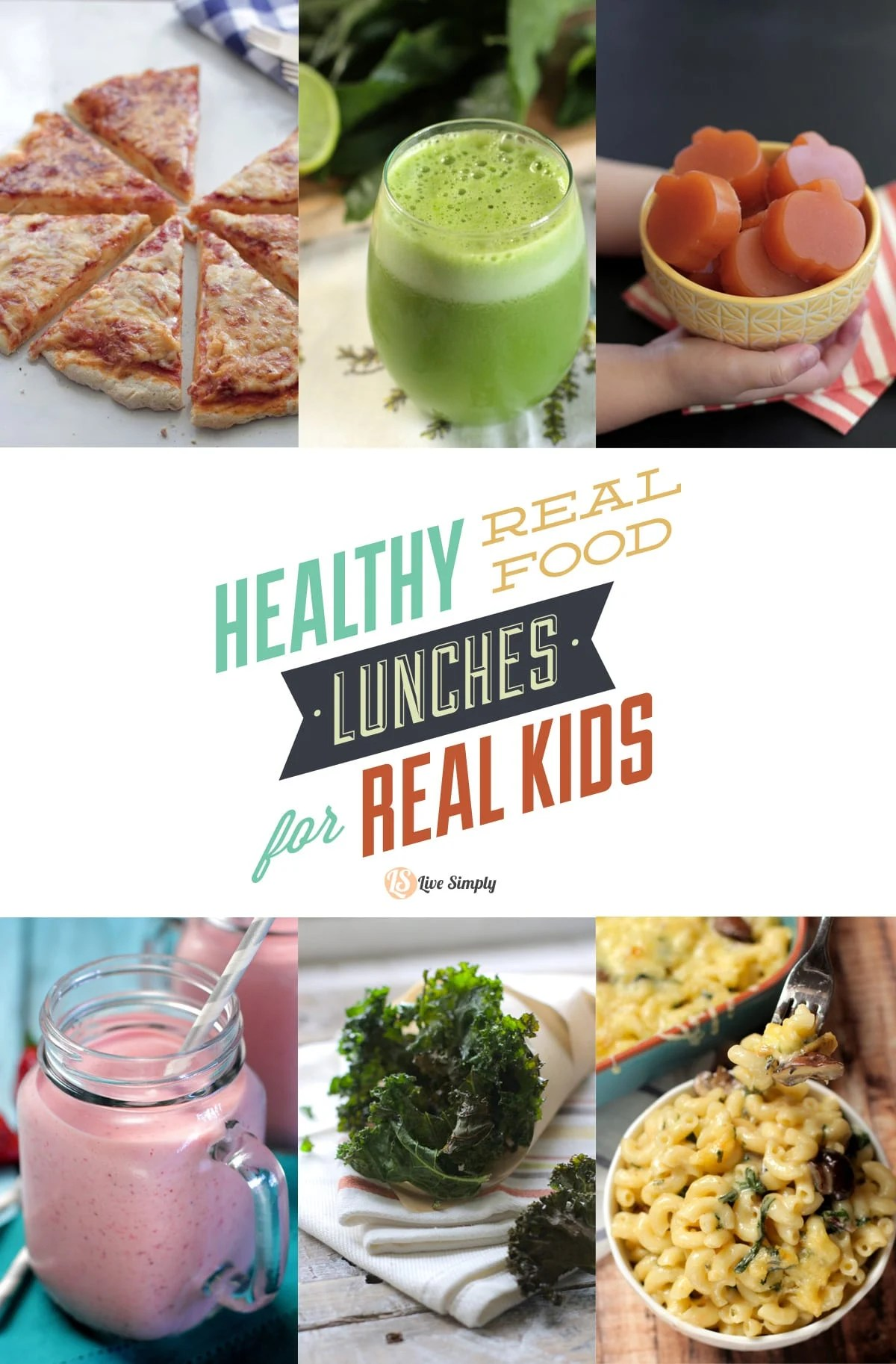 Healthy Real Food Lunches For Real Kids Over 50 Recipe
