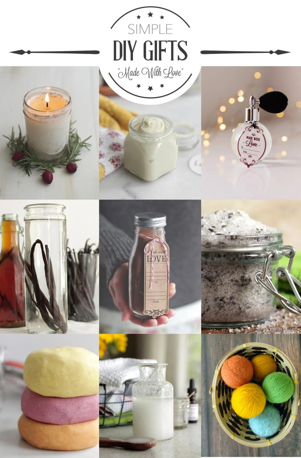 11 Simple DIY Gift Ideas - Live Simply