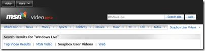 MSN Soapbox 现已成为 MSN Video (beta) 的一部分