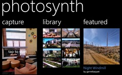 Photosynth for Windows Phone 8 发布
