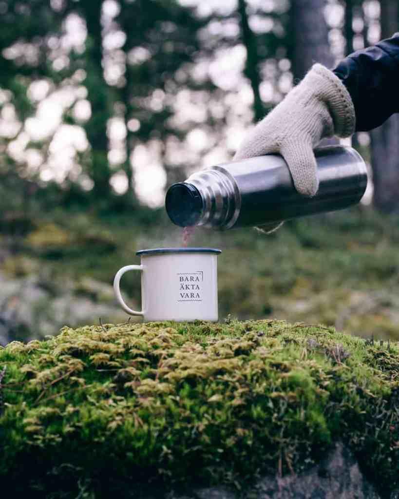 kaffe ut i naturen