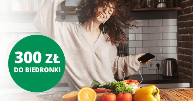 300 zł do Biedronki od BNP Paribas