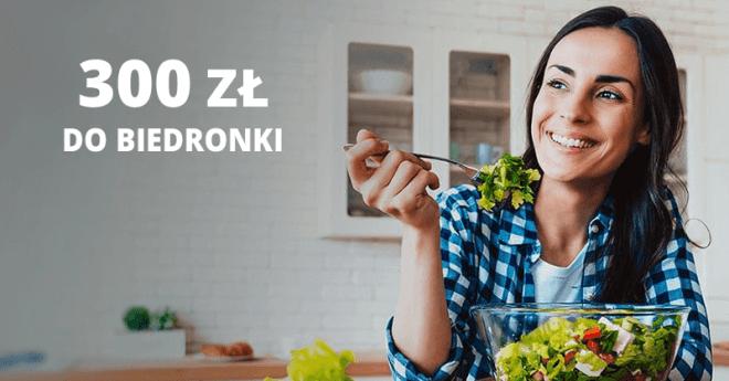 300 zł do Biedronki za kartę kredytową Citibank
