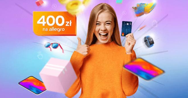 400 zł na Allegro od Citibanku