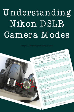 Nikon Camera Modes