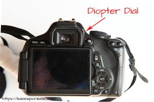 DSLR Diopter