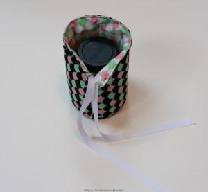 Final DIY padded lens case