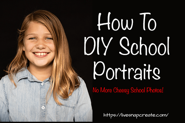 How To DIY School Portraits