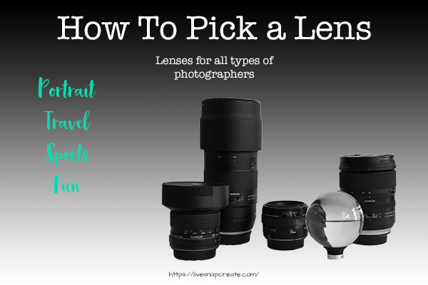 How To Pick a Camera Lens