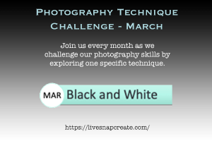 Photography Technique Challenge - March Black and White