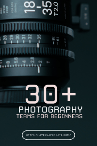 30+ Photography Terms for Beginners