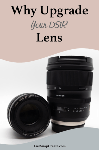 Why Upgrade your DSLR Lens with image of 2 lenses