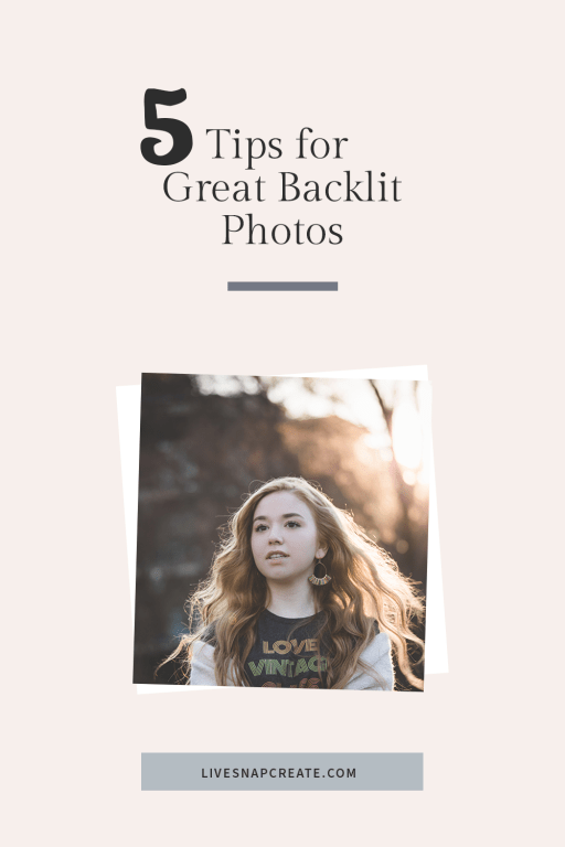 5 Tips for Great Backlit Photos with image of girls in a park with backlighting